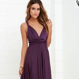 Purple Lulu's dress